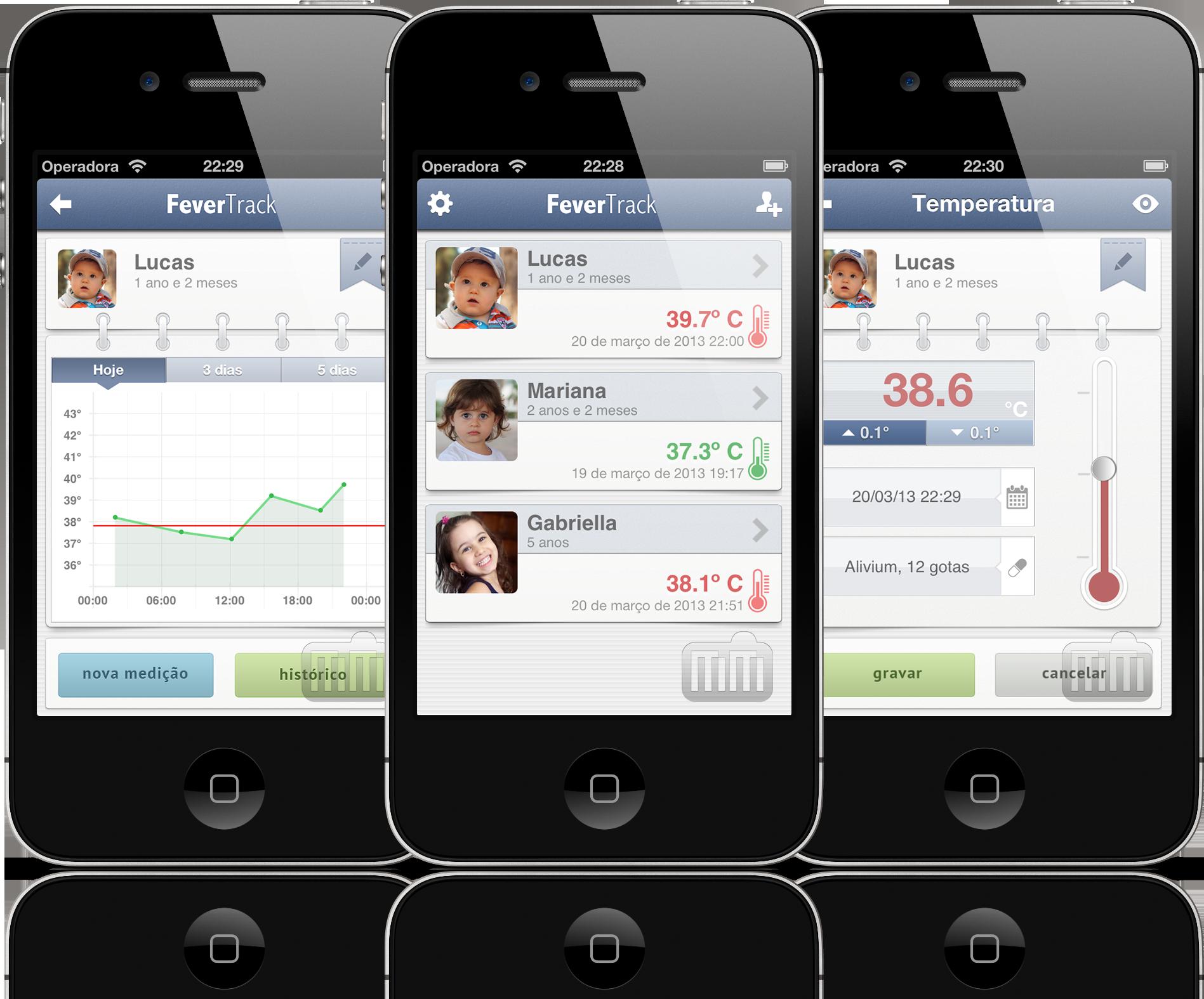 FeverTrack - iPhones
