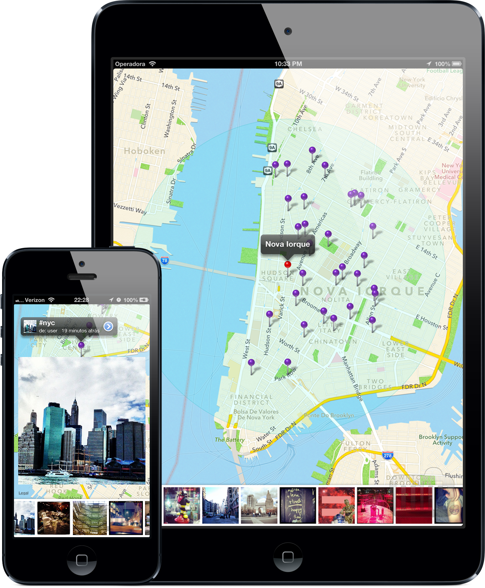 Mapgram - iPad e iPhone