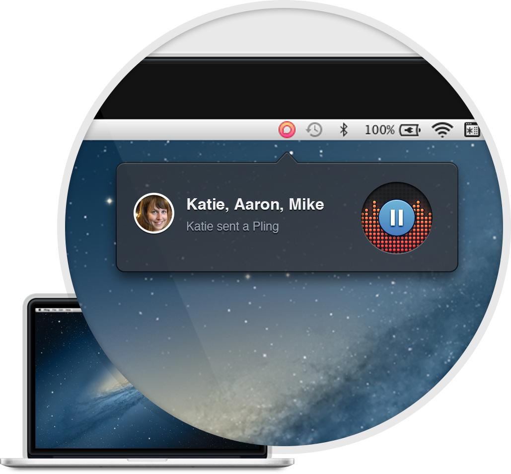 Pling Messenger para OS X