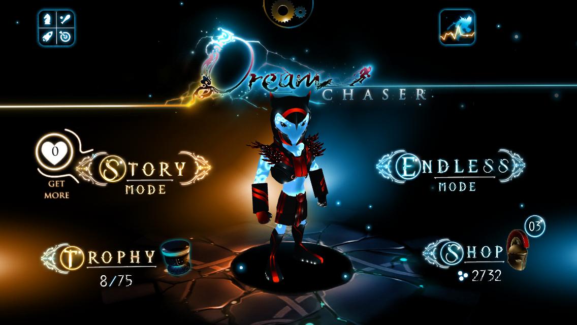 Screenshot do jogo Dream Chaser para iOS