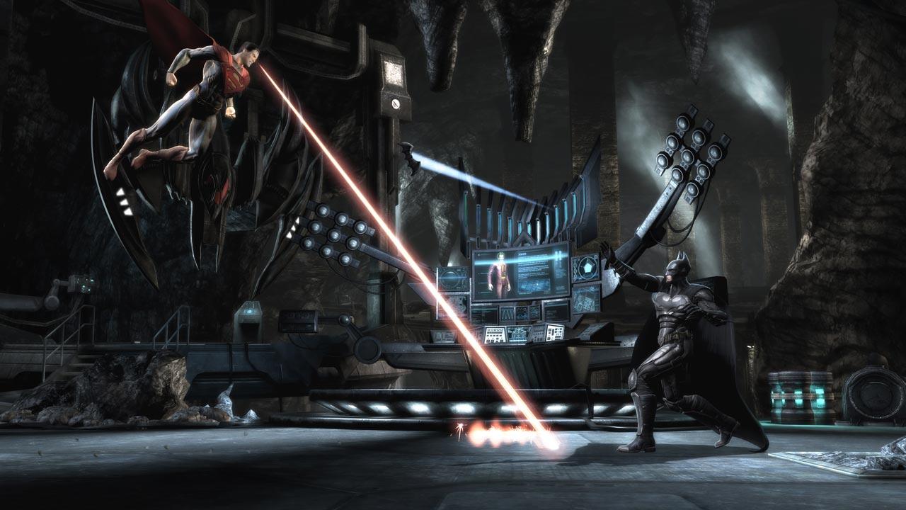 Screenshot do jogo Injustice para iOS