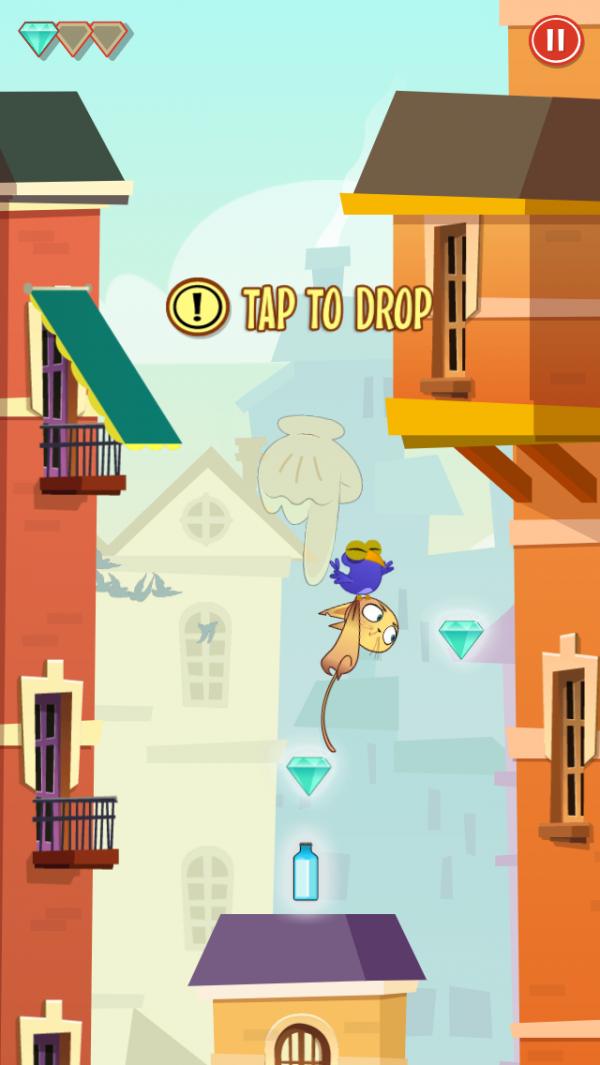 Screenshot do jogo Mittens para iPhone/iPod touch