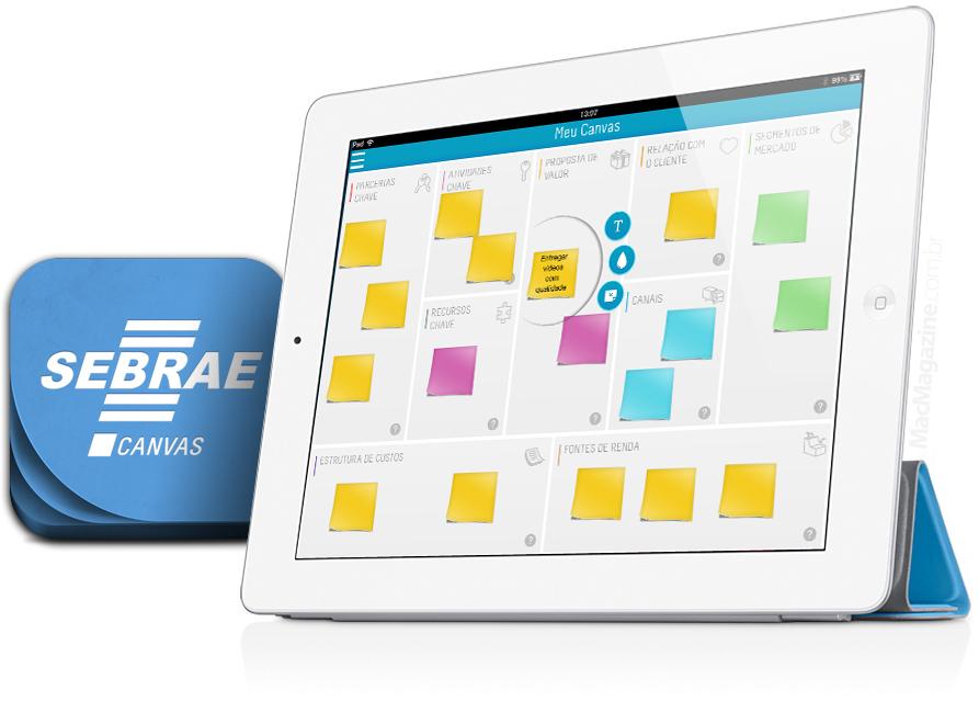 SEBRAE Canvas - iPad