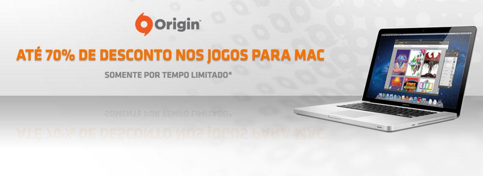 EA para Mac com 70% de desconto