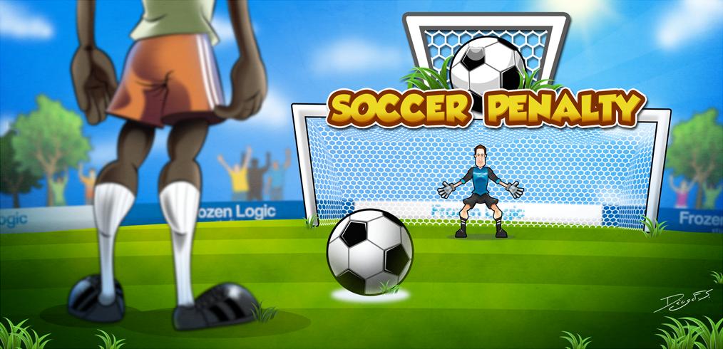 Banner de Soccer Penalty Kicks Deluxe