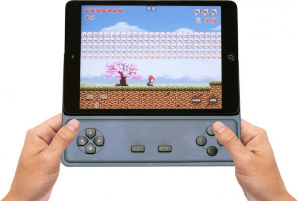Game D é um controle portátil de jogos criado para iPads mini