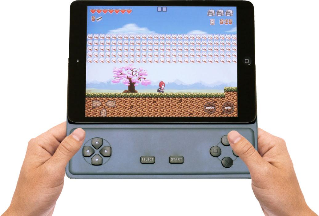 Game D com iPad mini