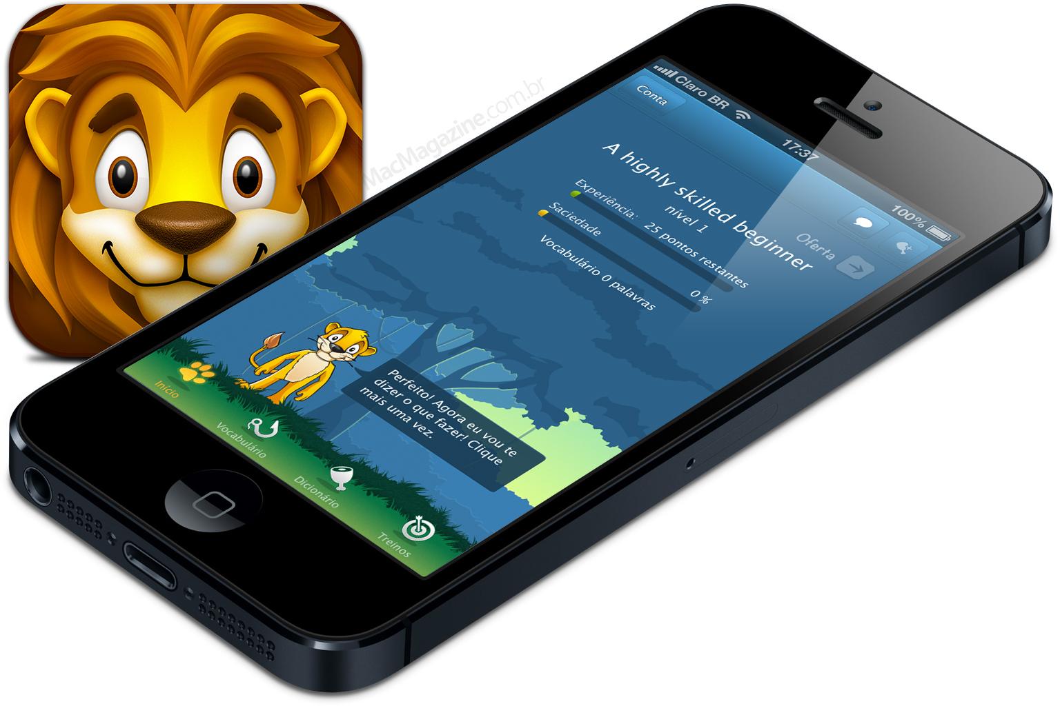 LinguaLeo - iPhone 5