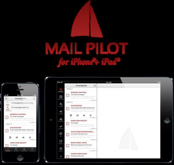 Do Kickstarter para a App Store: Mail Pilot é lançado em versão para iPads e iPhones/iPods touch