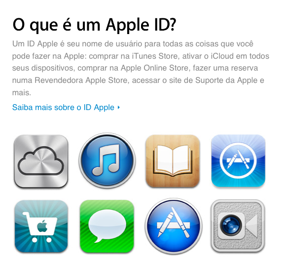Apple ID - Apresentação