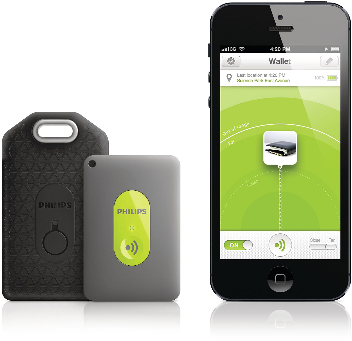 Philips InRange com iPhone