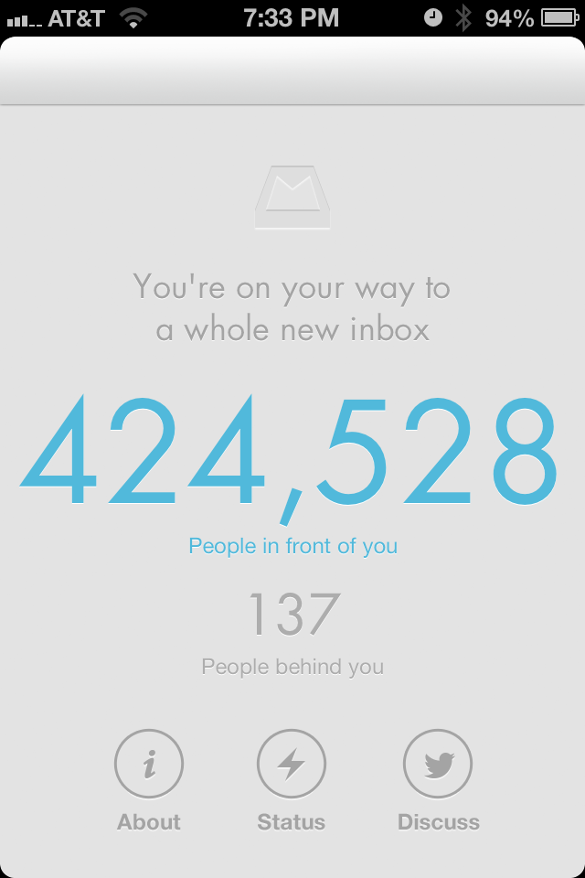 Fila do Mailbox