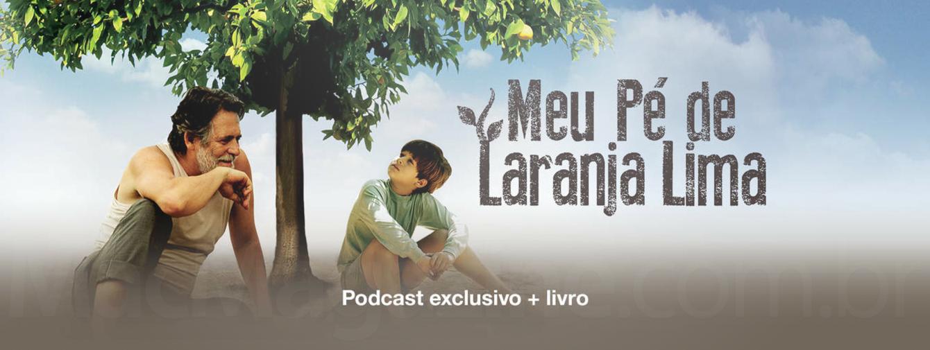 Banner - Meu Pé de Laranja Lima