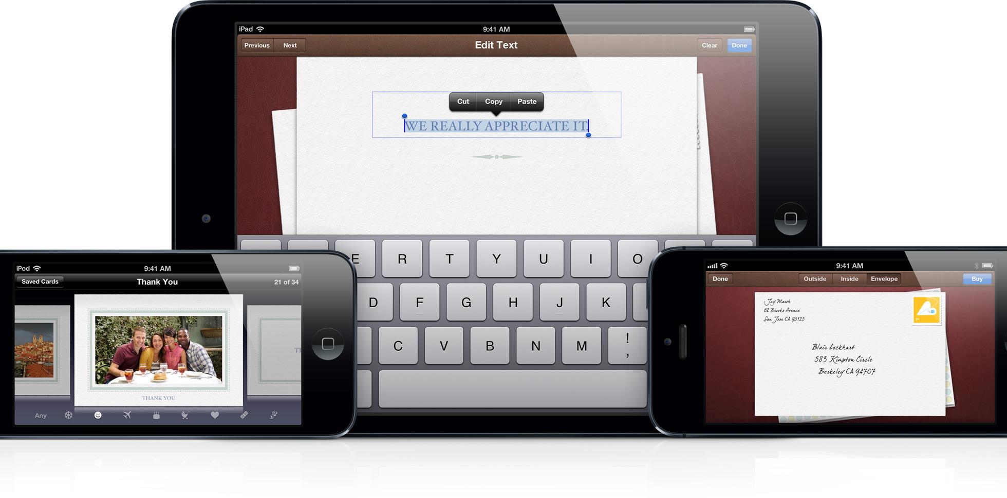 Aplicativo Cards da Apple em iGadgets