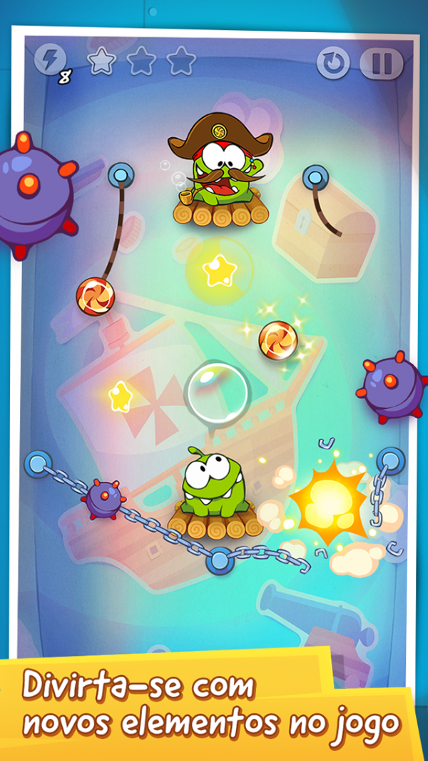 Ícone do jogo Cut the Rope: Time Travel para iPhone/iPod touch