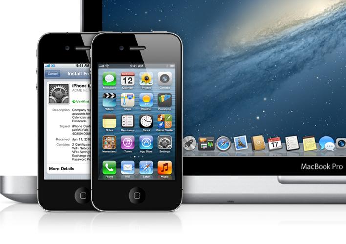 MacBook e iPhones - Apple Developer