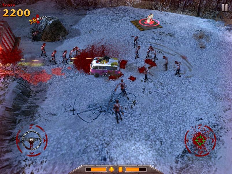 Screenshot do jogo RIP Rally para iOS