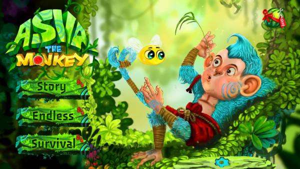 Screenshot do jogo Asva The Monkey para iOS