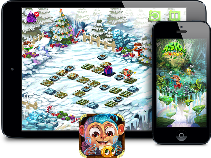 Teaser do jogo Asva The Monkey para iOS