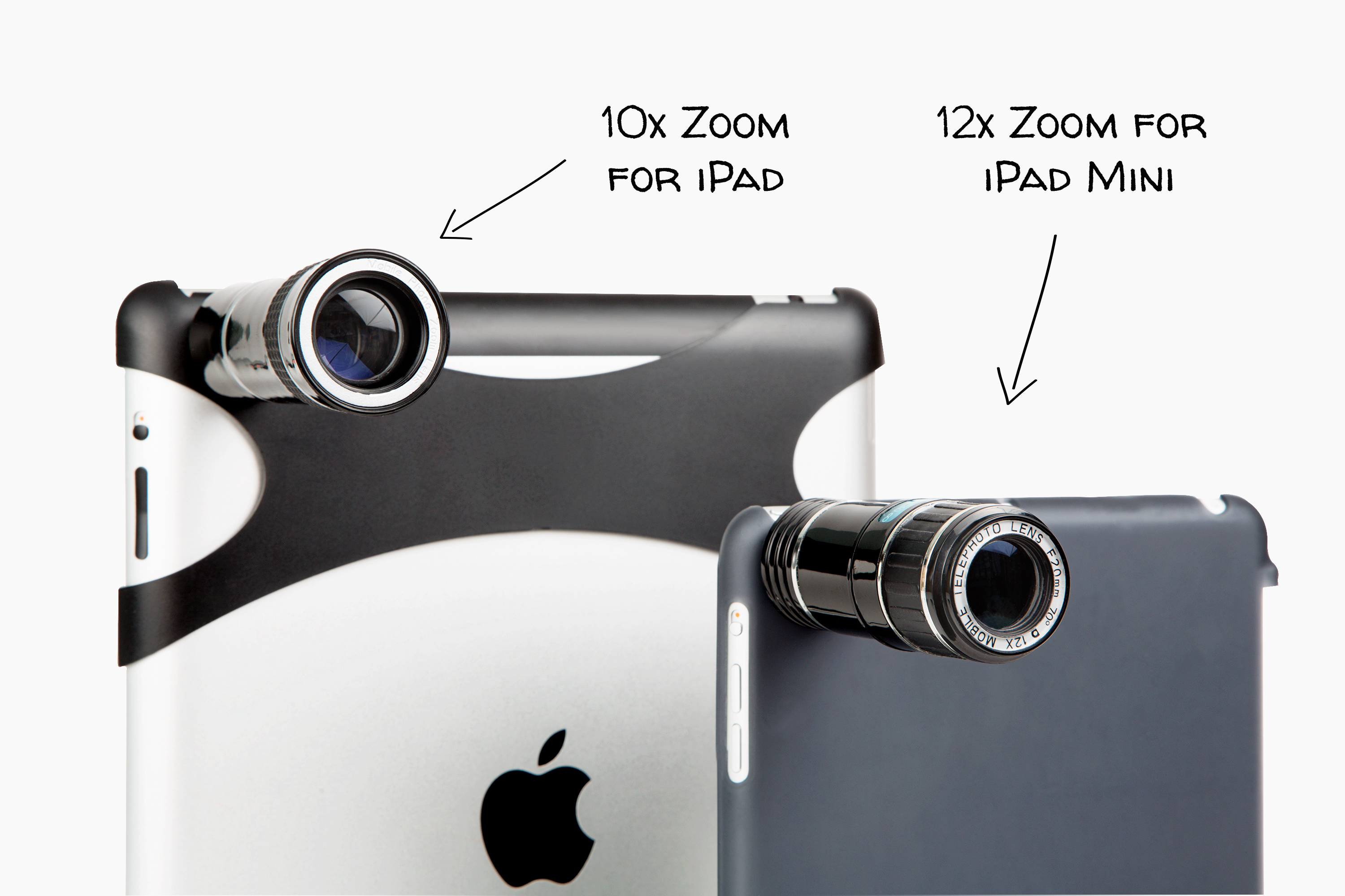 The iPad Telephoto Lens - Photojojo