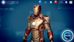 Comparação Homem de Ferro 3 - Jogo