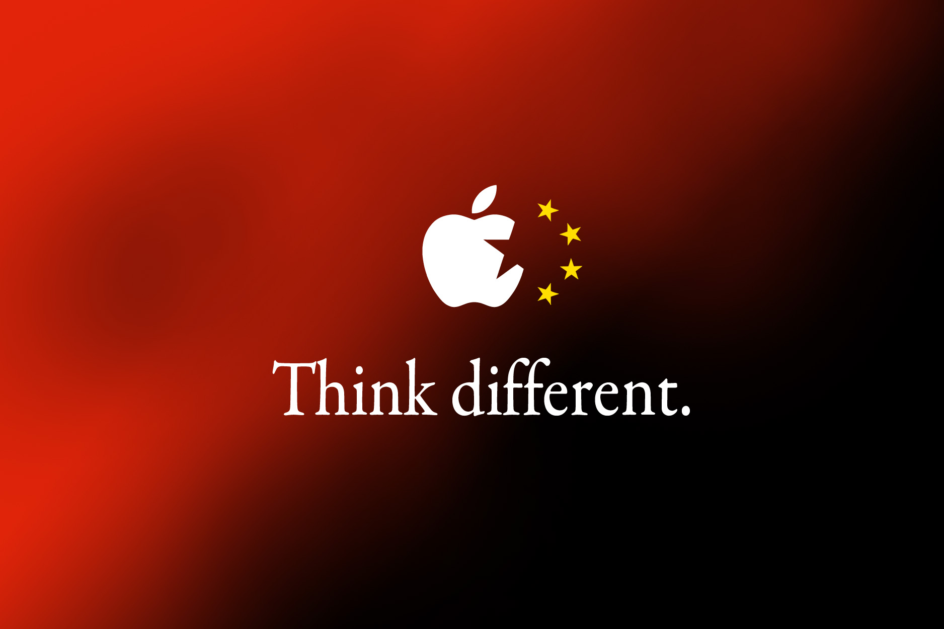 Bandeira - China/Apple