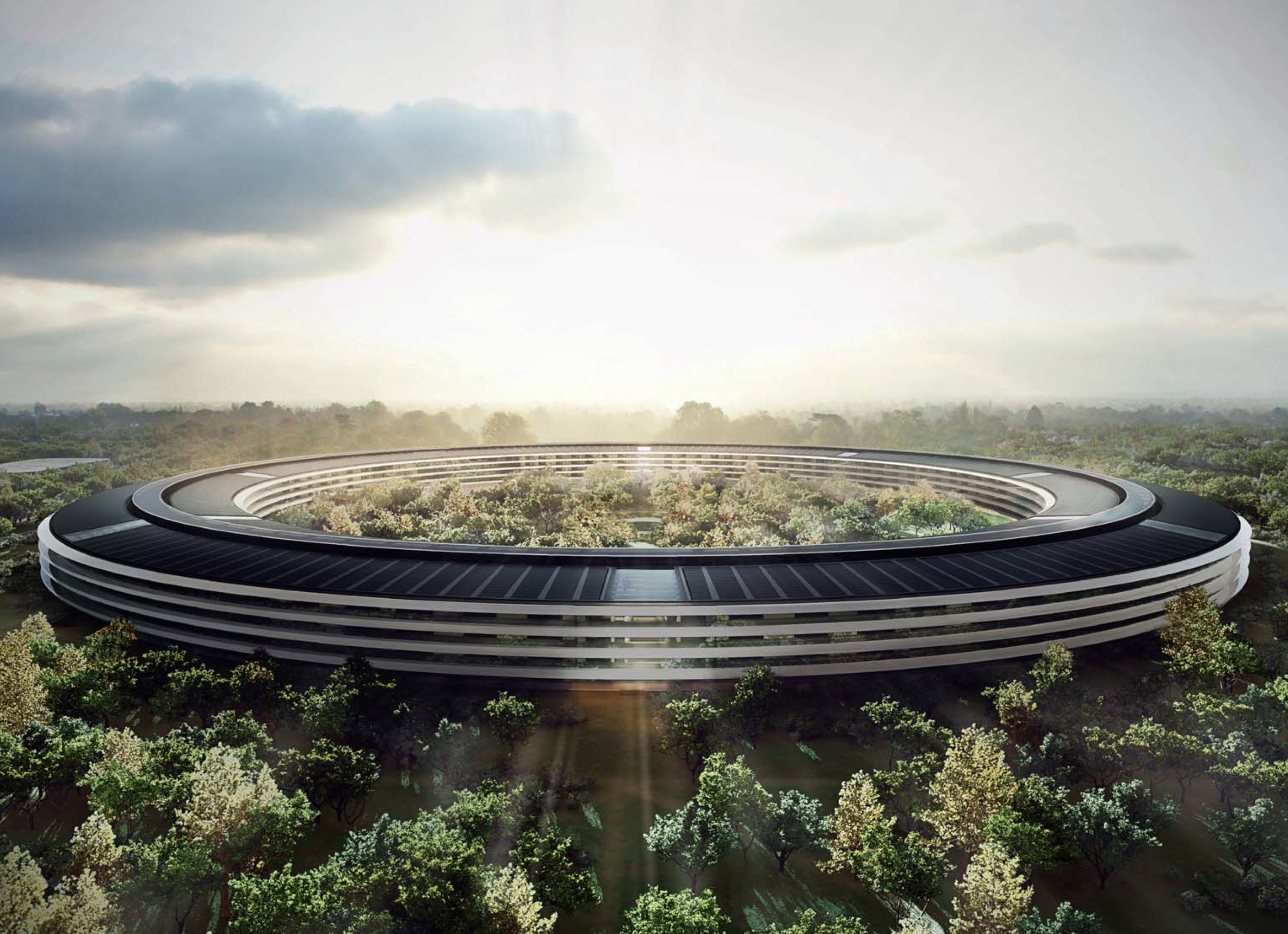 Futuro campus da Apple