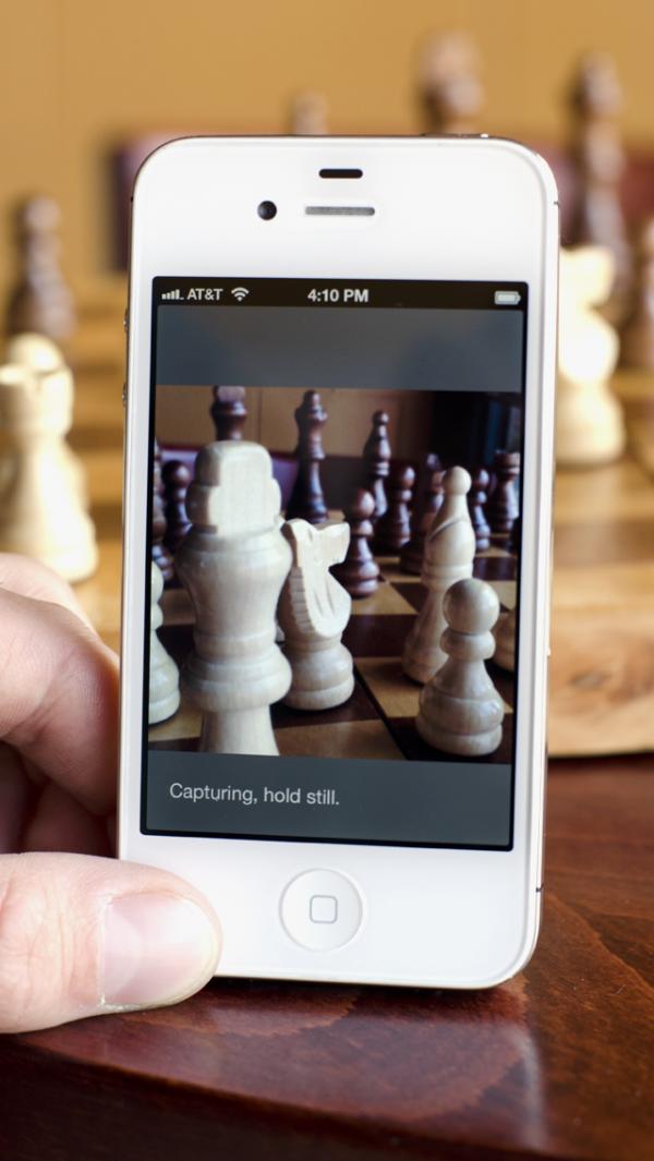 FocusTwist em iPhone