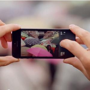 Miniatura do comercial do iPhone