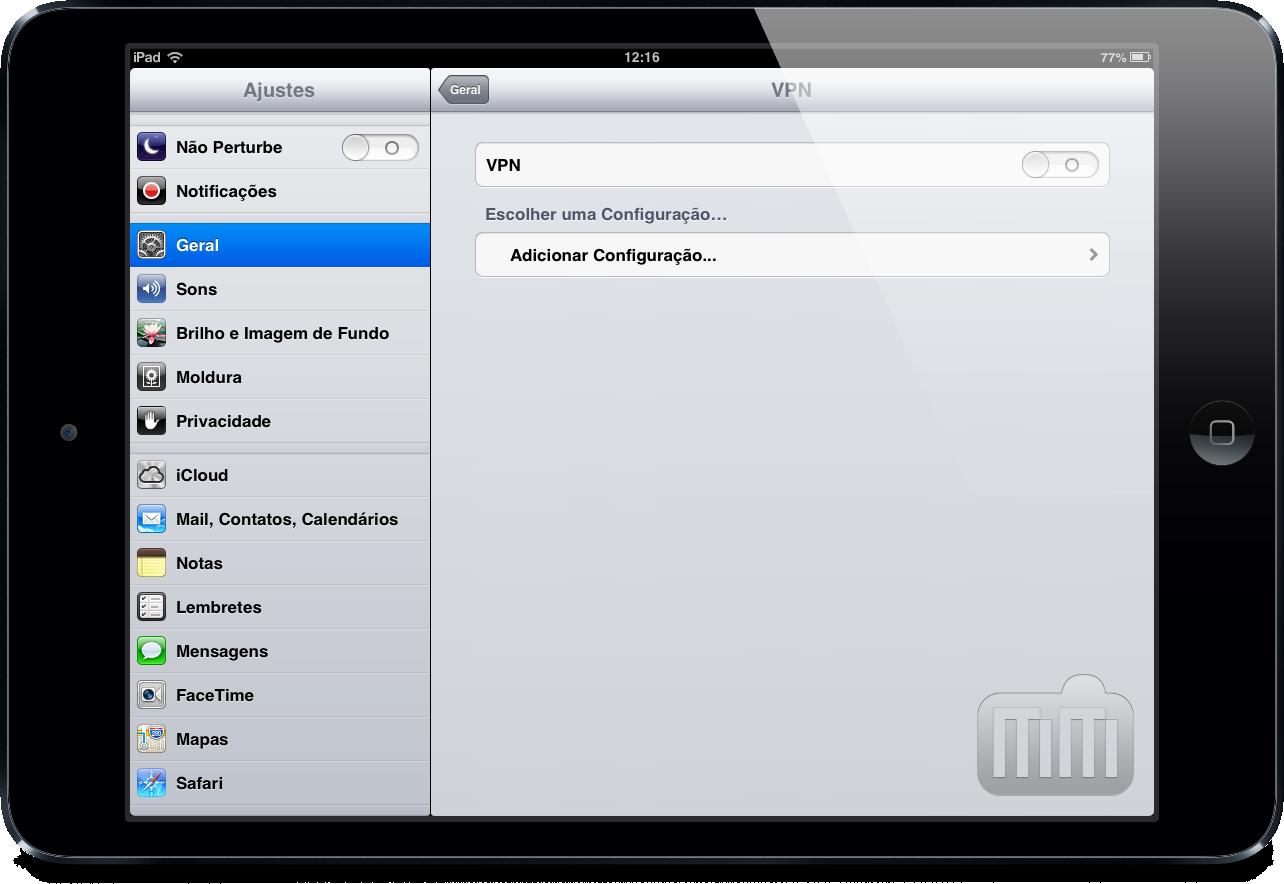 VPN em iPads