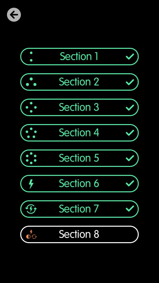 Screenshot do jogo Circles Memory para iOS