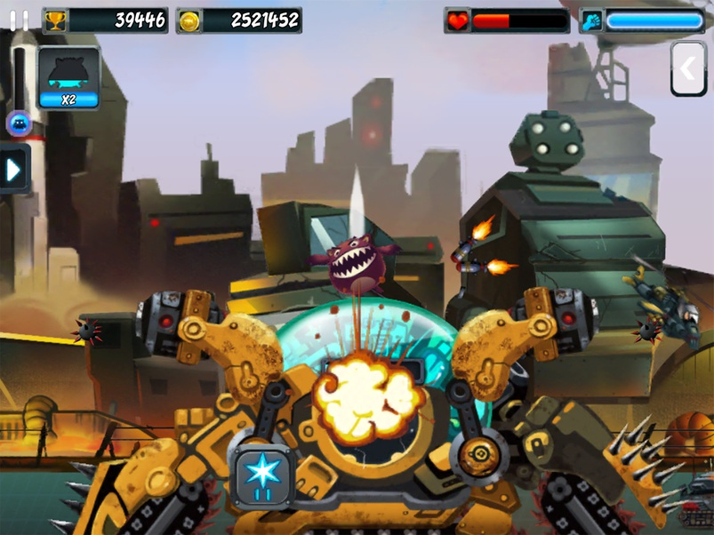 Screenshot do jogo Madmonster para iOS