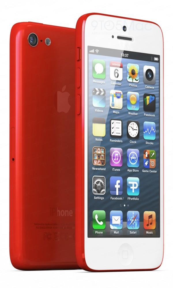 Conceito de iPhone de baixo custo, por Ferry Passchier