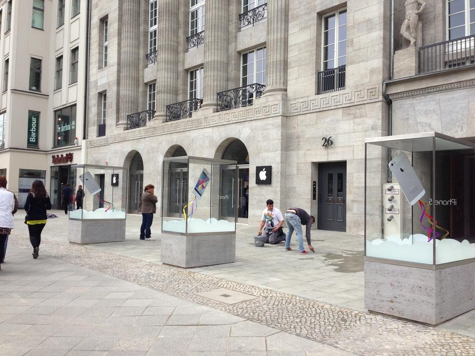 Primeira Apple Retail Store de Berlim