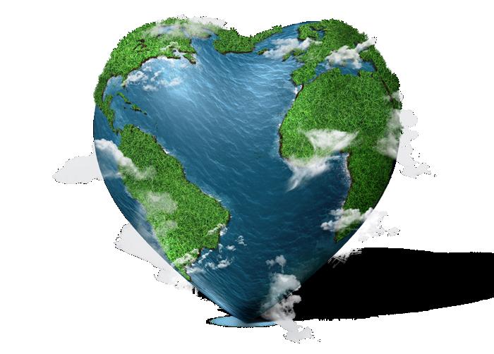 Planeta em forma de coração - Urbotip