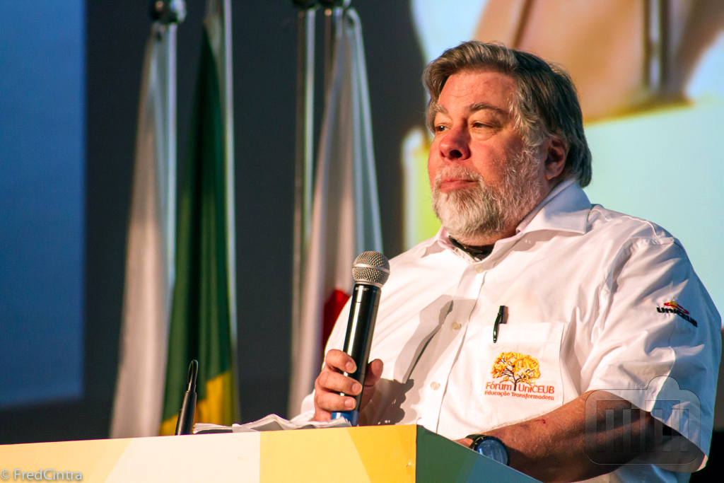 Steve Wozniak no Fórum UniCEUB