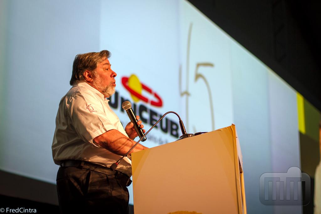 Steve Wozniak no Fórum UniCEUB