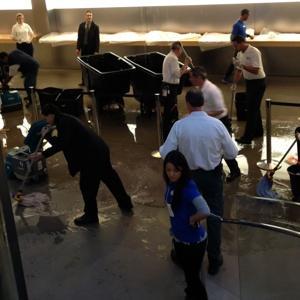 Inundação na Apple Store, Quinta Avenida