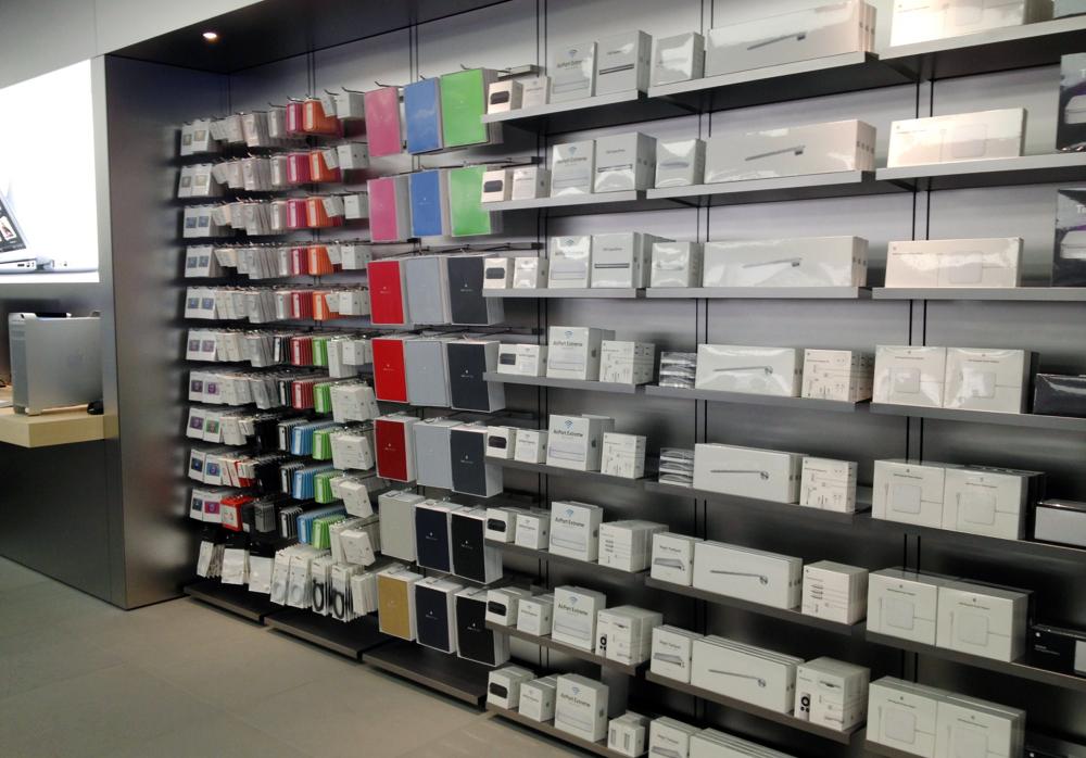 Acessórios em Apple Retail Store