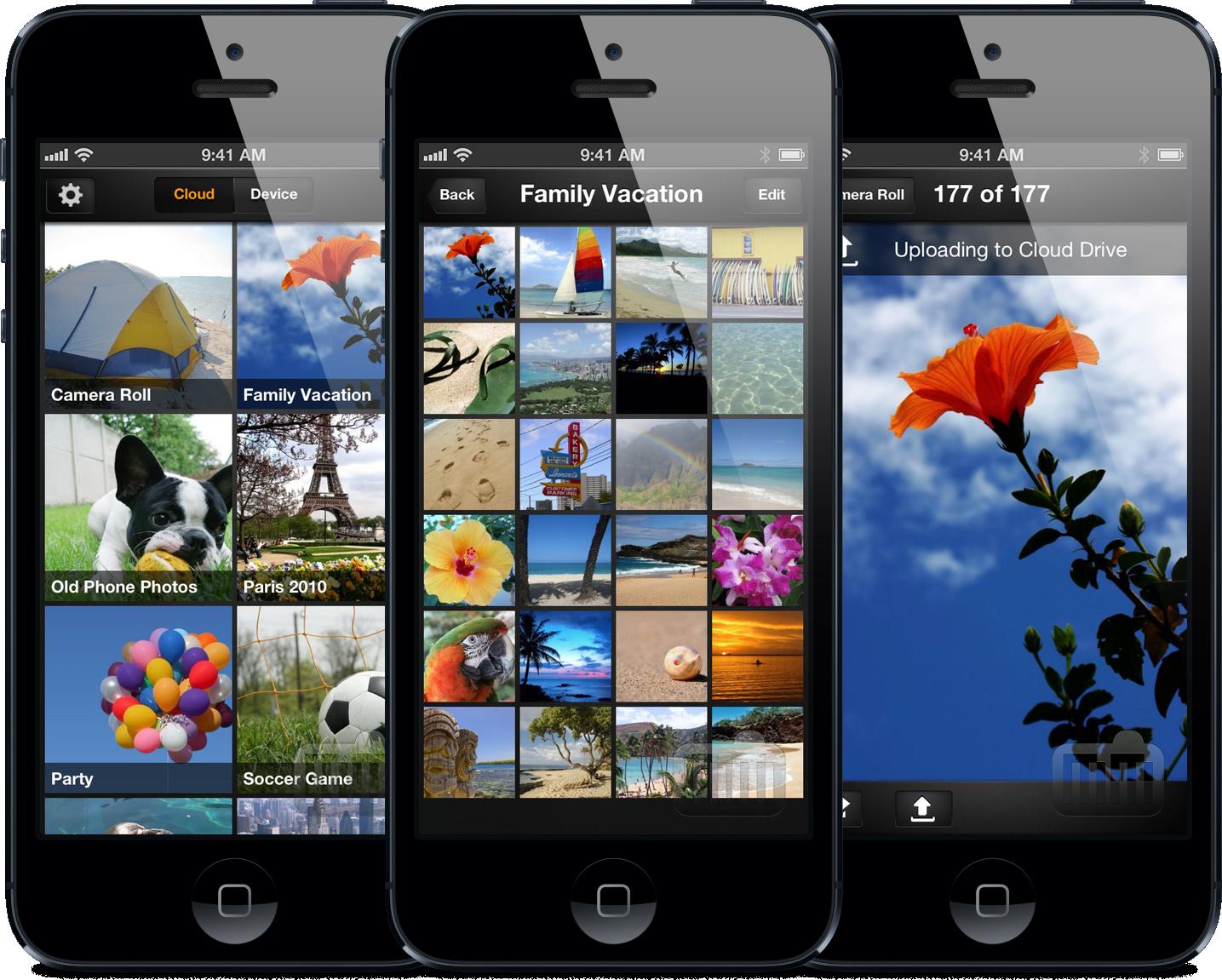App Amazon Cloud Drive Photos