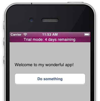 Conceito de teste (trial) de apps