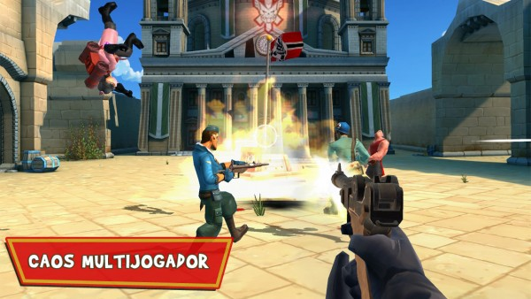 Screenshot do jogo Blitz Brigade para iOS