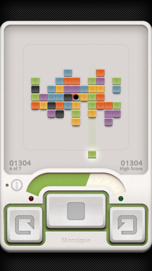 Screenshot do jogo Mosaique para iOS