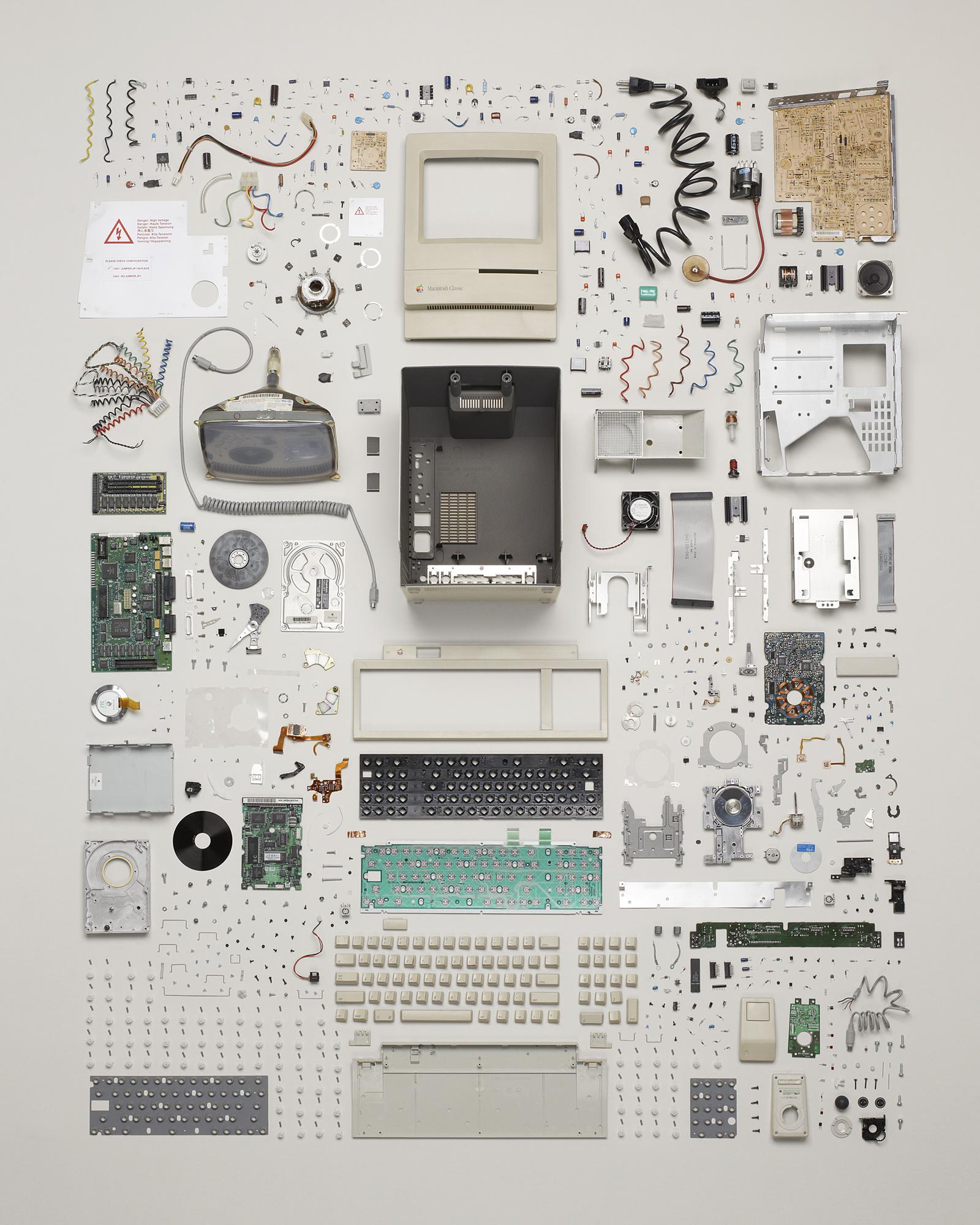 Macintosh Classic, por Todd McLellan