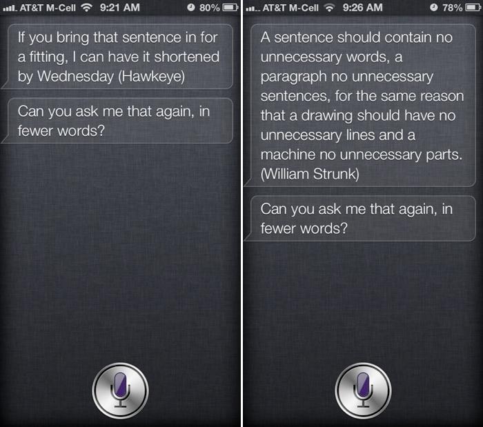 Citações da Siri