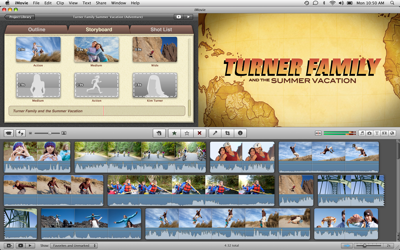 iMovie no Mac