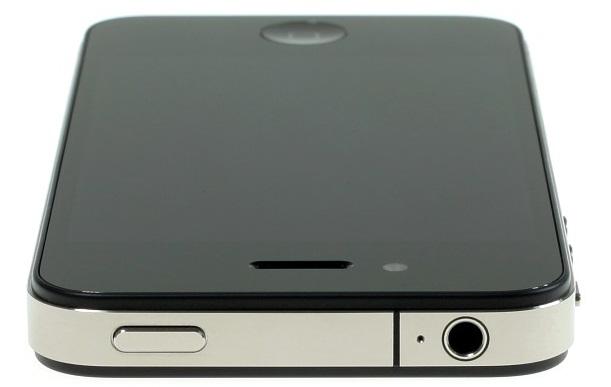 iPhone 4 deitado