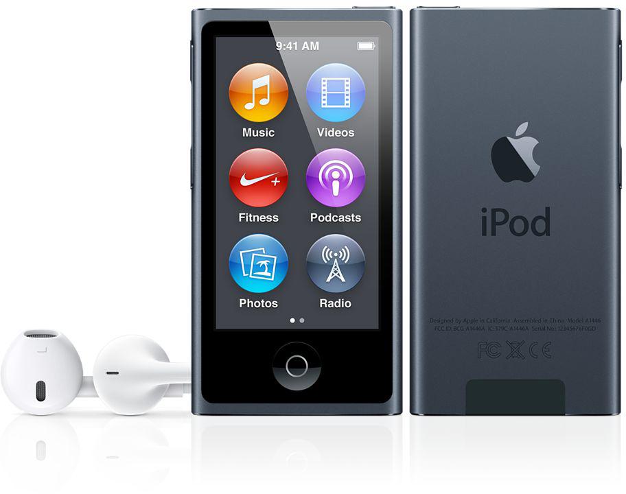 iPod nano preto