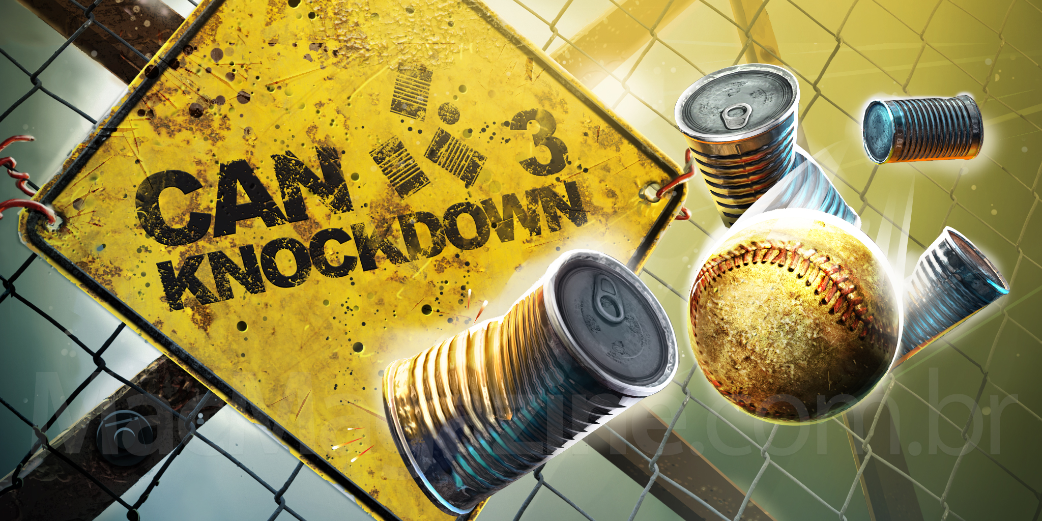 Banner do jogo Can Knockdown 3 para iOS