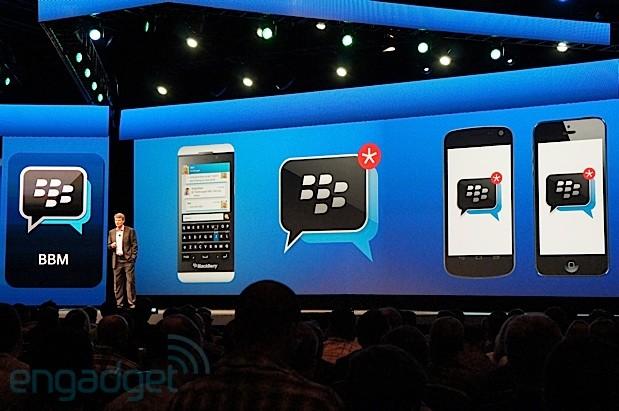 BlackBerry Messenger (BBM) para iOS